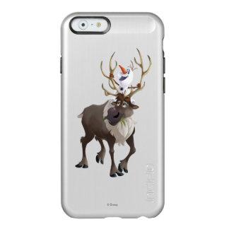 Olaf y Sven 2 Funda Para iPhone 6 Plus Incipio Feather Shine