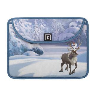 Olaf y Sven Funda Para Macbooks