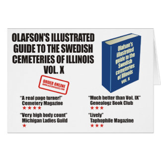 Olafson's Illustrated Guide Cards