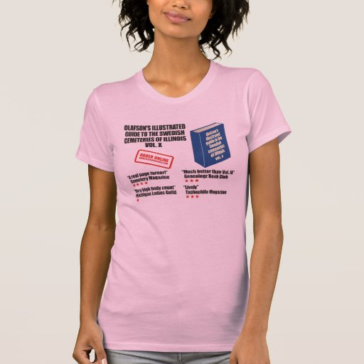 Olafson's Illustrated Guide Tee Shirts