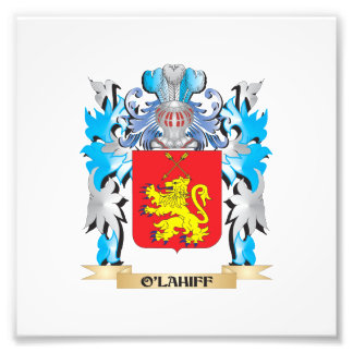 O'Lahiff Coat of Arms - Family Crest Photographic Print