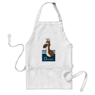Olama badge adult apron