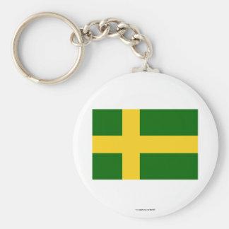 Öland flag (unofficial) keychain
