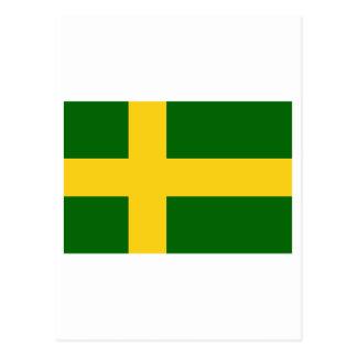 Öland flag (unofficial) postcard
