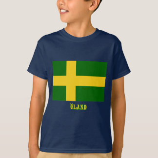Öland flag with name (unofficial) T-Shirt