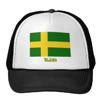 Öland flag with name (unofficial) trucker hat