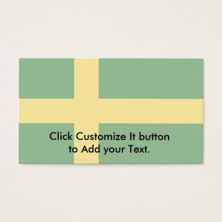 Oland, Sweden flag Business Card