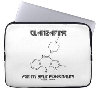 Olanzapine para mi doble personalidad (química) mangas portátiles