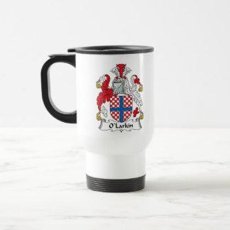 O'Larkin Family Crest Travel Mug