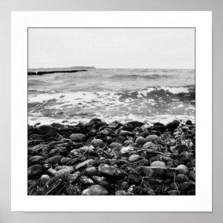 Olas Mar Báltica No7 - Waves Baltic Sea No7 Póster