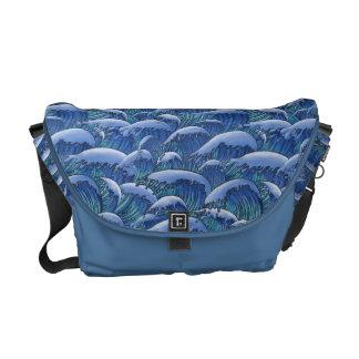 Olas oceánicas bolsas de mensajería