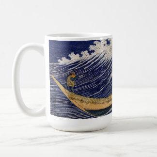 Olas oceánicas de Katsushika Hokusai Taza De Café