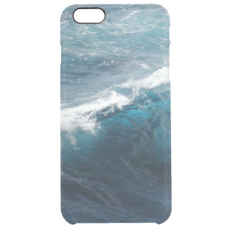Olas oceánicas funda clearly™ deflector para iPhone 6 plus de unc