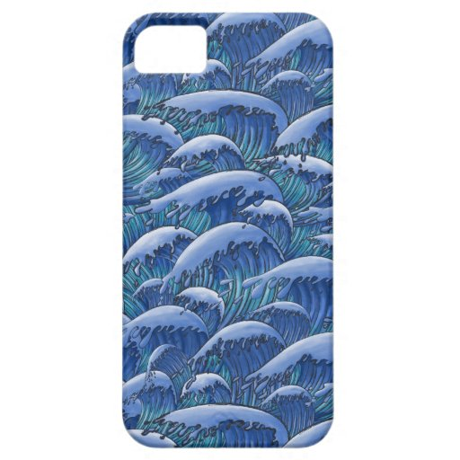 Olas oceánicas iPhone 5 Case-Mate coberturas