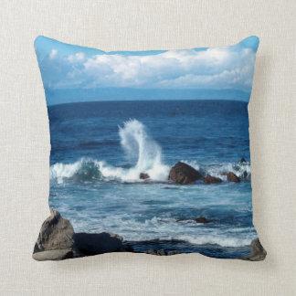 Olas oceánicas pacíficas cojin
