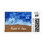 Olas oceánicas personalizadas sellos