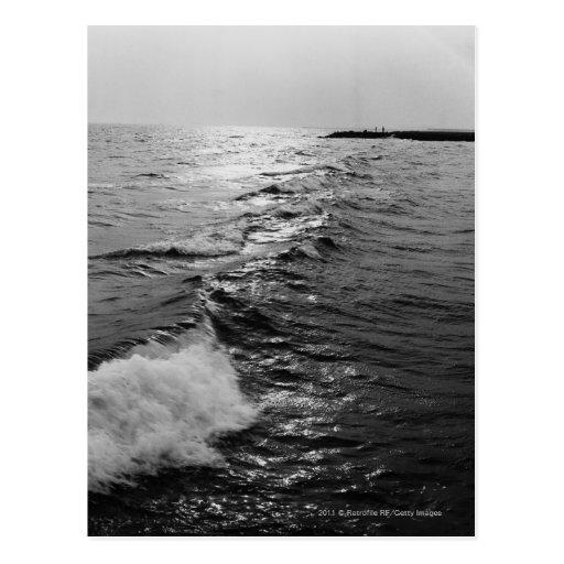 Olas oceánicas postales
