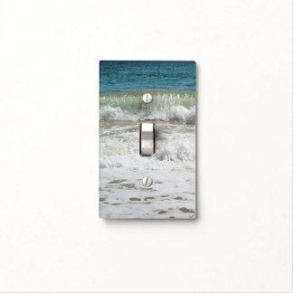 Olas oceánicas placa para interruptor