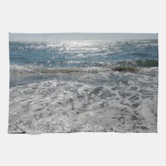 Olas oceánicas toalla