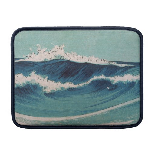 Olas oceánicas - Uehara Konen Fundas Para Macbook Air