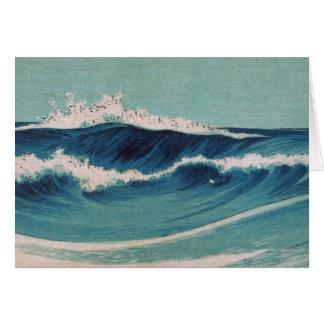 Olas oceánicas - Uehara Konen Tarjetas