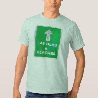 Olas y playas de Las Camisas