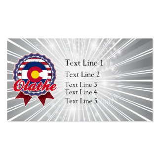 Olathe, CO Double-Sided Standard Business Cards (Pack Of 100)