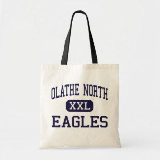 Olathe North - Eagles - High - Olathe Kansas Canvas Bag