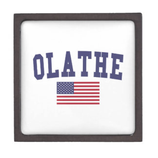 Olathe US Flag Gift Box
