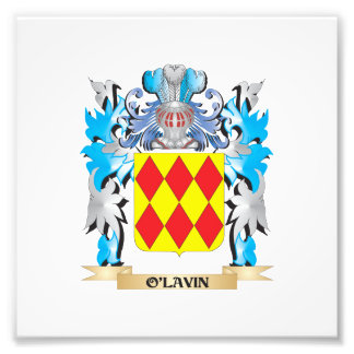 O'Lavin Coat of Arms - Family Crest Photo Print
