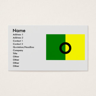 olaya, Columbia Business Card