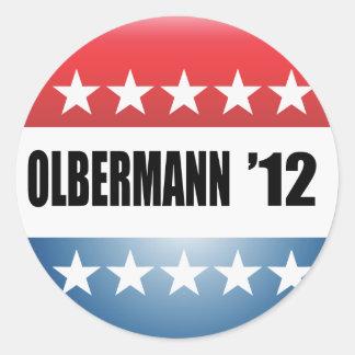 OLBERMANN ROUND STICKERS