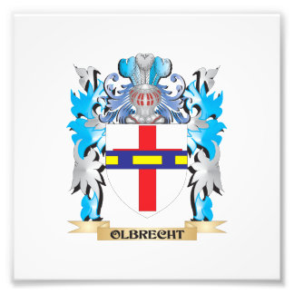 Olbrecht Coat of Arms - Family Crest Photograph