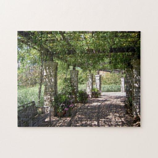 Olbrich Botanical Gardens Donor Arbor Jigsaw Puzzles Zazzle