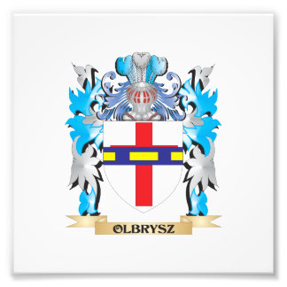 Olbrysz Coat of Arms - Family Crest Photo Print