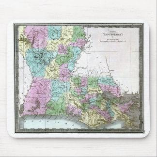 Old 1848 Louisiana Map Mouse Pad