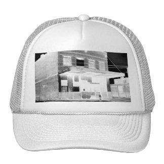 Old Abandon Building negative Trucker Hat
