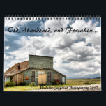 "Old, abandoned, and forsaken calendar<br><div class=""desc"">This is a calendar featuring my own photographs of old, abandoned, forsaken, forgotten, and derelict items. It features full color or black and white photos of some of my more popular shots. I was an amateur photographer in my youth, but gave it up for a while. Then, I rediscovered my...</div>"