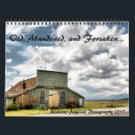 """Old, abandoned, and forsaken calendar<br><div class=""""desc"""">This is a calendar featuring my own photographs of old, abandoned, forsaken, forgotten, and derelict items. It features full color or black and white photos of some of my more popular shots. I was an amateur photographer in my youth, but gave it up for a while. Then, I rediscovered my...</div>"""
