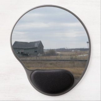 Old Abandoned Barn Gel Mouse Pad
