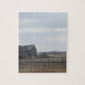 Old Abandoned Barn Jigsaw Puzzle
