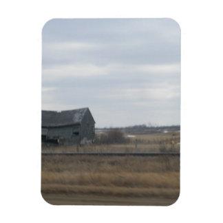 Old Abandoned Barn Magnet