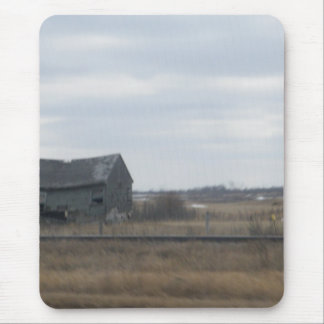 Old Abandoned Barn Mouse Pad