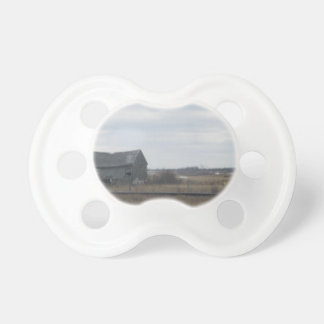 Old Abandoned Barn Pacifier