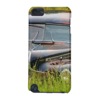 Old Abandoned Car in Field iPod Touch (5th Generation) Case