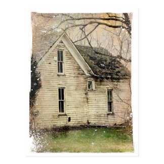 Old Abandoned House Postcard