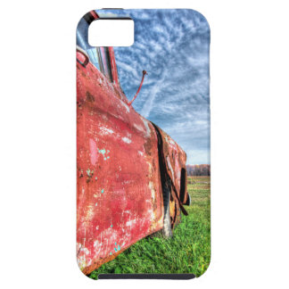 Old Abandoned red Chevy Truck iPhone 5 Case