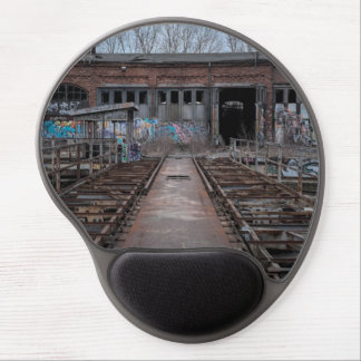 Old abandoned warehouse gel mouse pad