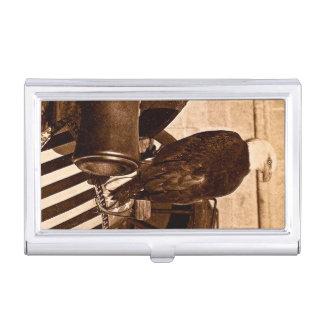 Old Abe the Civil War Bald Eagle Vintage Business Card Case