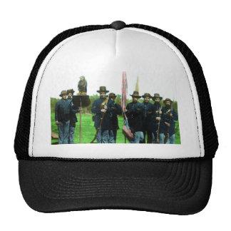 Old Abe the War Eagle  Wisconsin 101st Airborne Trucker Hat